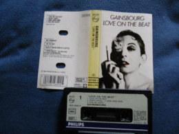 SERGE GAINSBOURG K7 AUDIO VOIR PHOTO...ET REGARDEZ LES AUTRES (PLUSIEURS) - Cassettes Audio