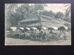 AK   CEYLON   SRI LANKA   BULLOCK HACKERIES  1905 - Sri Lanka (Ceylon)