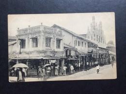 AK   CEYLON   SRI LANKA   KANDY   CASTLE HILL STREET - Sri Lanka (Ceylon)