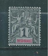 Timbres De Diégo Suarez   De 1893   N°38  Neuf Sans Gomme - Diego-suarez (1890-1898)