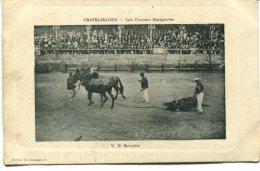 (r7-38) Casteljaloux (47) - Les Courses Espagnoles  V El Arrastre - Casteljaloux