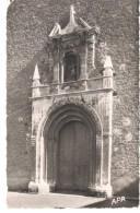POSTAL  CERET  -FRANCIA  - (PIRINEOS ORIENTALES ) PORTAL DE LA IGLESIA -MONUMENTO HISTÓRICO ( PORTAIL DE L'EGLISE) - Ceret