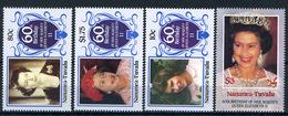 1986 - NANUMEA - TUVALU - Catg. Mi.  67/70 - NH - (CW BLOCK147) - - Tuvalu