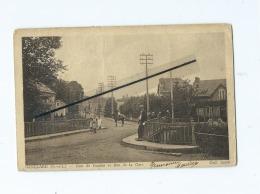 CPA  Abîmée  -  Guénelard  - Pont De Vernizy Et Rue De La Gare - Autres Communes