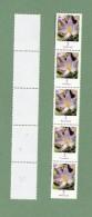 Bund -Freimarken Blumen  Michelnr.  5x 2480  Xx  (Rollenmarkenstreifen Mit Rückennummer) - [7] Repubblica Federale