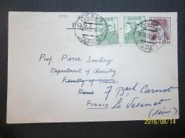 Nippon: 1952 Card To France (#ED15) - Storia Postale