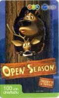 Mobilecard Thailand - 12Call - Movie,Film,cinema  - Open Season (6) - Kino