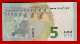 5 EURO M002 A6 PORTUGAL M002 A6 - M0420840092 - UNC - FDS - NEUF - EURO