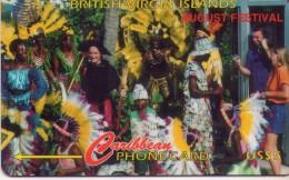 TARJETA TELEFONICA DE LAS ISLAS VIRGENES BRITANICAS (143CBVG) - Islas Virgenes
