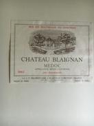844 - Château Blaignan 1983 Médoc - Bordeaux