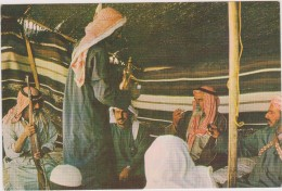SAUDI ARABIA,ARABIE SAOUDITE,SAUDITA,ARAB EMIRATES,BEDOUIN,pause Thé,tente - Arabie Saoudite