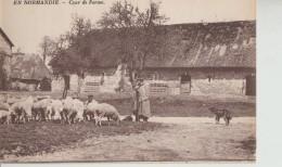 """""""  En  Normandie  -  Cour  De Ferme  """" - Folklore"""