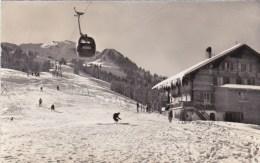 GONDELBAHN RINDERBERG MONTAGNE SPORT D'HIVER SKI CHALET SUISSE - Switzerland