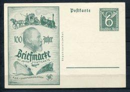 Germany 1945 Postal Stationary Card 6pf Unused Briefmarke - Germany