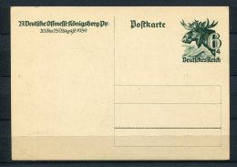 Germany 1939 Postal Stationary Card  Unused Reich - Germany