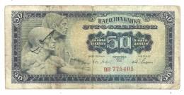 Yugoslavia 50 Dinara 1965 - Yugoslavia