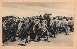 """05609 """"ETIOPIA - AFRICA ORIENTALE - ORGANIZZAZIONE DI UNA FANTASIA """" ANIMATA. CART. POST. ORIG. NON SPEDITA. - Ethiopia"""