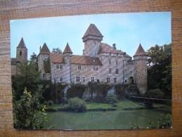 Amancey , Le Château De Cléron - France