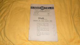 REVUE SOUS LE CIEL N°38 DE 1940. / ASTRONOMIE - ASTROLOGIE - ASTRORADIESTHESIE. - Livres, BD, Revues