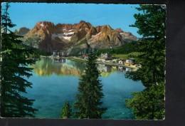 Q1763 CARTOLINA Del Lago Di Misurina ( Belluno ) Sorapis, Dolomiti - VIAG. 1965 - VENETO, ITALIA - Italia