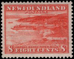 Newfoundland 1932-38 8c Brownish-red Lightly Mounted Mint. - Newfoundland