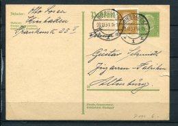 Germany 1931 Uprated Postal Stationary Card Wissbaden - Germany