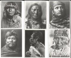 Photos D´Indiens D´Amérique De Edward Sheriff Curtis, Format Env. 8x10 Cadre Blanc Irrégulier (879) Retirage? - Ethnics