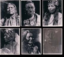 Photos D´Indiens D´Amérique De Edward Sheriff Curtis, Format Env. 8x11 Cadre Blanc Irrégulier (40) Retirage? - Ethnics
