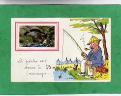 Ceyrat La Pêche Est Bonne à Boisséjour (pont De Pierres) 2 Scans 04/09/1961 (63-Puy-de-Dôme) - Otros Municipios