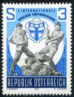 Österreich - Michel 1688 - ** Postfrisch (E) - Katholische Arbeitnehmertagung - 1945-.... 2ème République