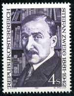 Österreich - Michel 1692 - ** Postfrisch (D) - Stefan Zweig - 1945-.... 2nd Republic