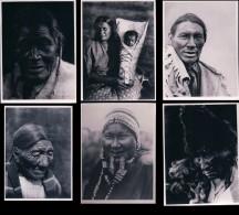 Photos D´Indiens D´Amérique De Edward Sheriff Curtis, Format Env. 8x11 Cadre Blanc Irrégulier (14) Retirage? - Ethnics