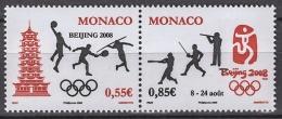 MONACO 2008  - DUO Y.T. 2627 / 2628 - NEUFS** - Ongebruikt
