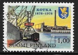 Finland, Scott # 607 Used Kotka Harbor, 1978 - Finland