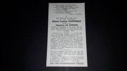 Marie Louise CORTHALS, 101 Jarige Geb Te MOERKERKE 1859 - Overl Te MALDEGEM 1960. 2 Scans - Images Religieuses
