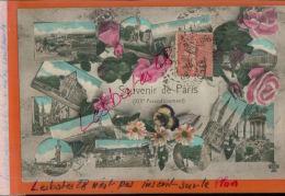 CPA SOUVENIR DE PARIS   Multicarte  Multi-vues  AV 2016 831 - Arrondissement: 19