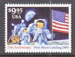 US  2842    **        SPACE  MOON  LANDING - Astronomy