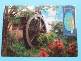 Antiguo Molino De Aqua COLONIA TOVAR - Anno 1975 ( Details Zie Foto ) ! - Venezuela