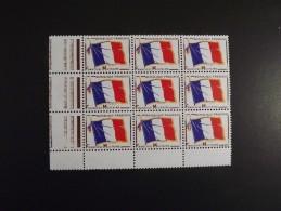 Bloc De 9 Timbres Franchise Militaire Année 1964 - Franchise Stamps