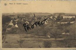 Mont St Guibert : Panorama  (  Ecrit Avec Timbre ) - Mont-Saint-Guibert