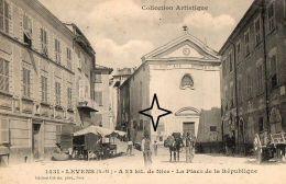 LEVENS  La Place De La REPUBLIQUE - (Chapelle De La Confrérie Des Pénitents Blancs). - France