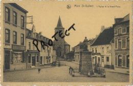 Mont St Guibert :   L´église  Et La Grand'place - Mont-Saint-Guibert