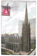 USA - NEW YORK - TRINITY BUILDING - TRINITY CHURCH - AMERICAN SURETY BUILDING - 1907 - Wall Street