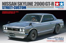 Nissan Skyline 2000GT-R Street Custom 1/24 (  Tamiya ) - Cars