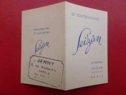 CALENDRIER 1950 SOUTIEN GORGE SEIZAN - Calendriers