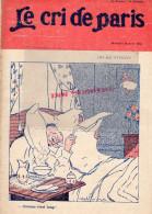 LE CRI DE PARIS - N° 943- 25 AVRIL 1915- DESSIN ABEL FAIVRE -MAGASINS DUFAYEL- PARIS - RUE CLIGNANCOURT- - Books, Magazines, Comics