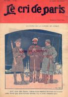LE CRI DE PARIS - N° 941- 11 AVRIL 1915- DESSIN RENE REB -BELLE JARDINIERE-MAGASINS DUFAYEL- PARIS - RUE CLIGNANCOURT- - Books, Magazines, Comics
