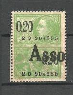 BELGIEN Belgium Revenue Fiscal Tax Steuermarke - Stamps