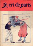 LE CRI DE PARIS - N° 947- 23 MAI 1915- DESSIN BARCET-VICHY -MAGASINS DUFAYEL- PARIS - RUE CLIGNANCOURT- - Books, Magazines, Comics