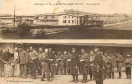 Guerre 14/18 - Allemagne - Camp De Lauban Prisonniers Russes - Distribution De La Soupe - Guerre 1914-18